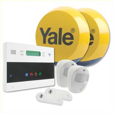 An image of The Yale ETF1 Kit2 alarm offers great security and value as well as being quick to install goes here.