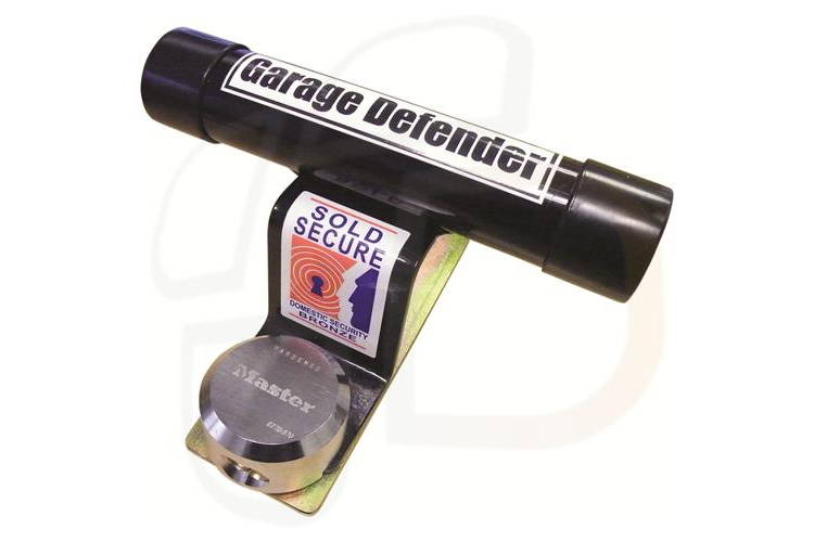 Image of The garage defender adds a useful level of security to your garage door, acting as an effective deterrent